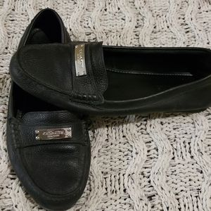 Coach Black Loafers size 8.5
